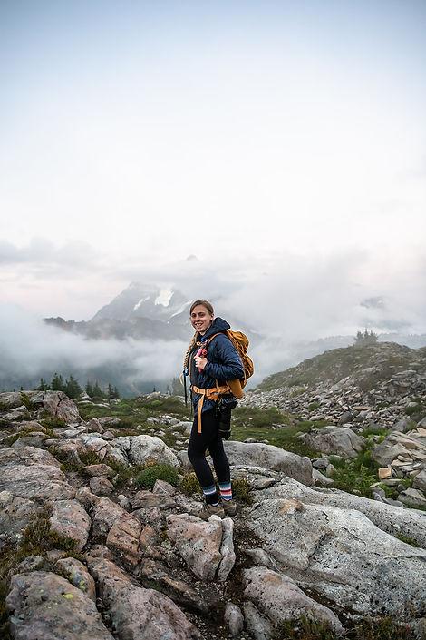 A North Cascades elopement photographer