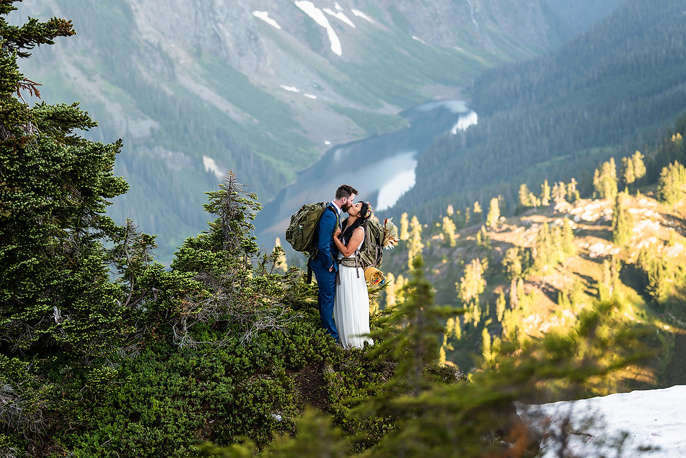 Best places to elope Gold Creek Pond