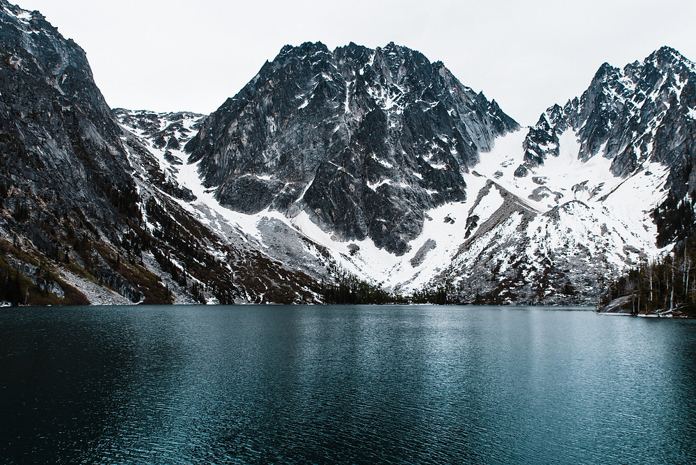 Colchuck Lake in the Enchantments