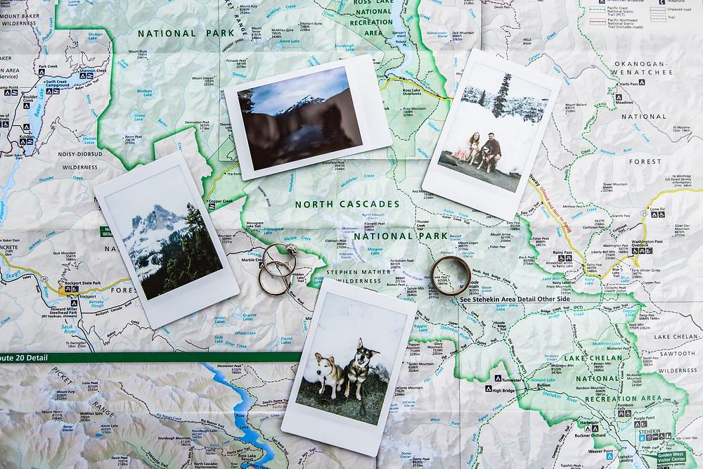 North Cascades adventure elopement