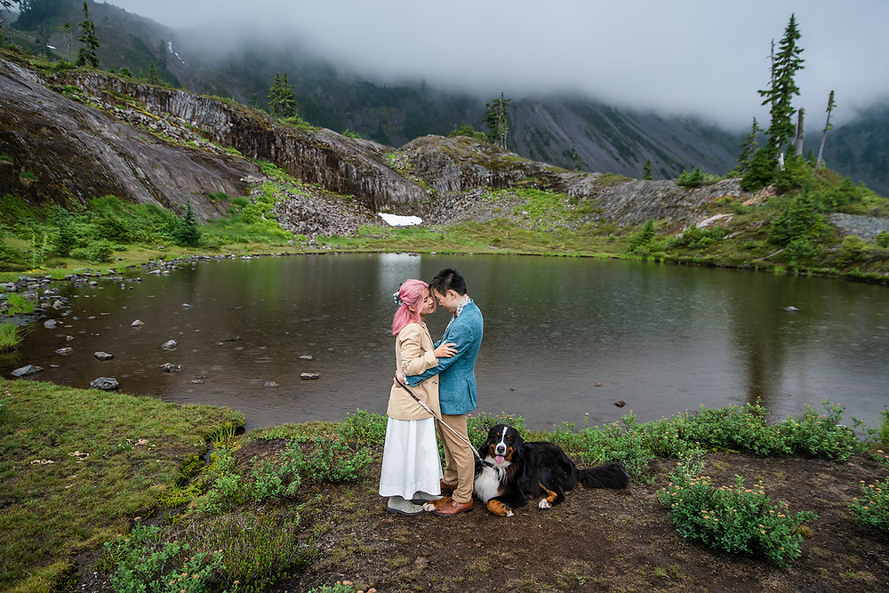 Where to elope, Diablo Lake in North Cascades National Park