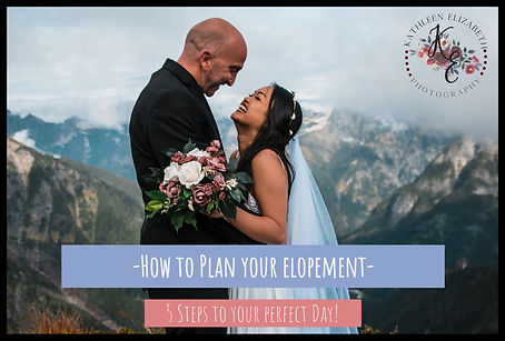 The ultimate elopement planning guide to help get you started on your journey to planning your own adventurous elopement. This guide is full of advice, tips, and has everything you need to know when planning your elopement.