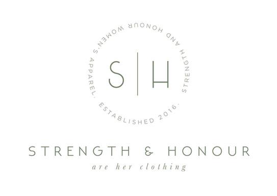 Strength & Honor Logo