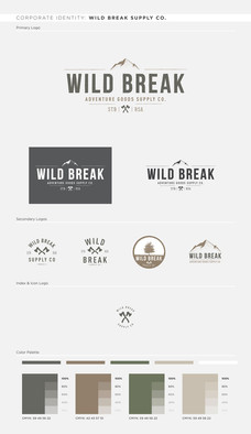 Wild Break Styleguide