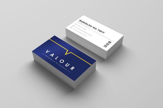 Valour Business Cards