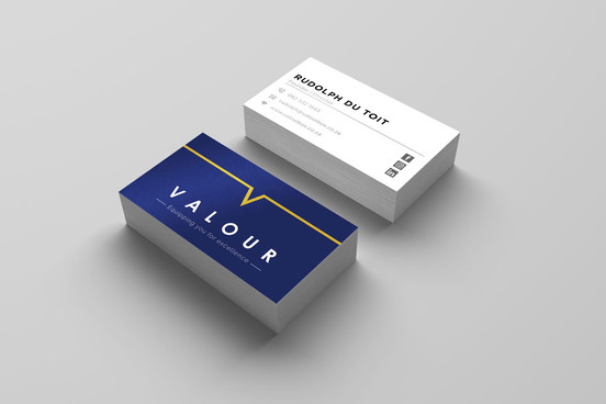 Valour Business Cards