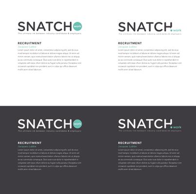 Snatch.work Branding