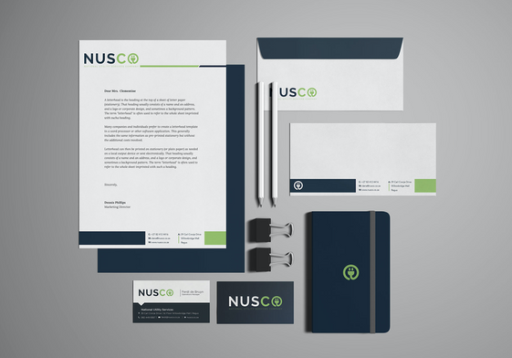 NUSCO Corporate Identity Design