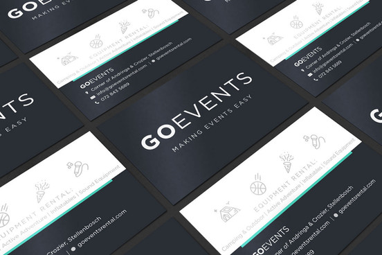 Go Events Business Cards