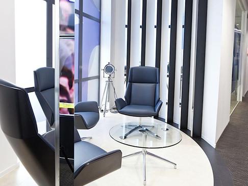 Boardroom Stained Black Ash Veneer