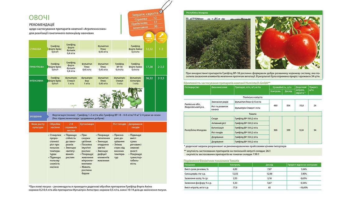 Технологія вирощування овочей