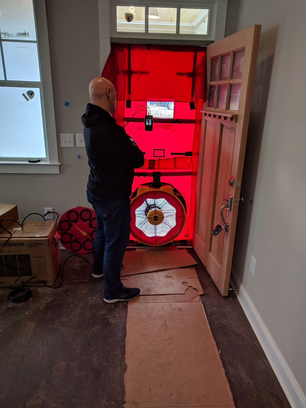 Blower door tests should always be included in home energy audits.