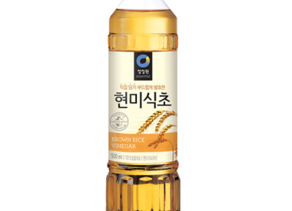 CHUNGJUNGWON Brown Rice Vinegar - 500 ml