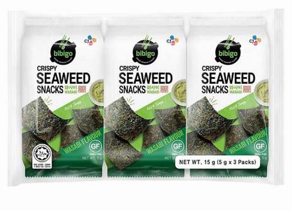 BIBIGO Seaweed Snack with Wasabi