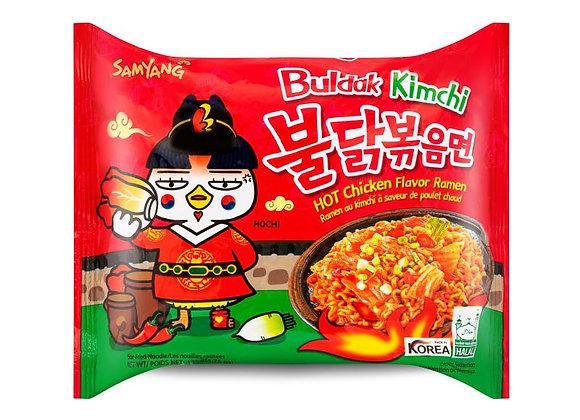 SAMYANG Buldak Kimchi Hot Chicken Flavor Ramen