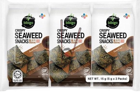 BIBIGO BBQ Seaweed Sheets