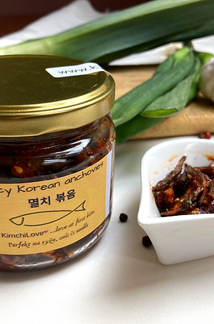 KIMCHI LOVE Spicy Anchovies - 250 g
