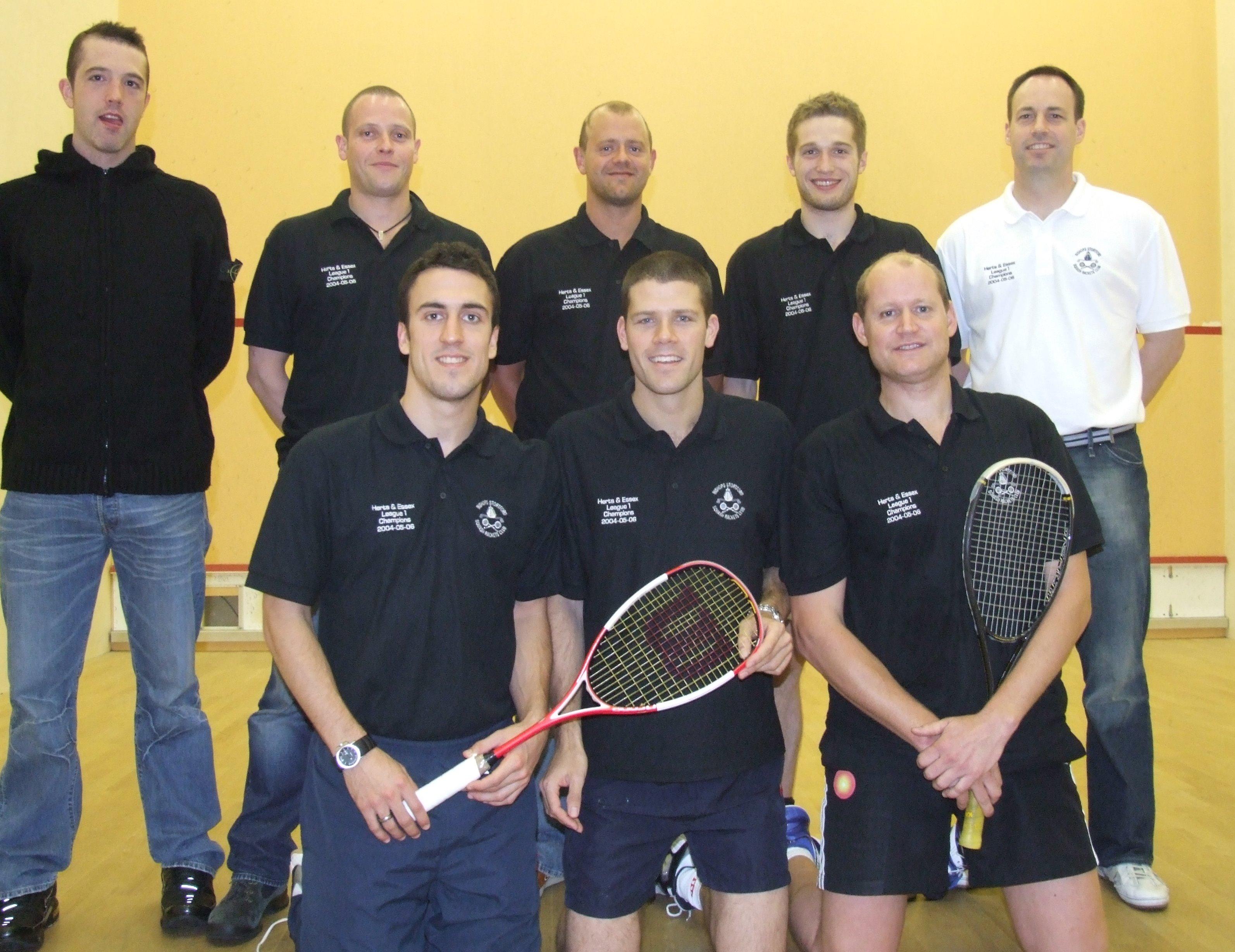 National Club Squash Champions