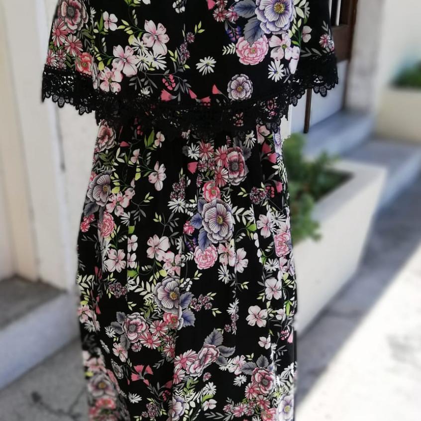 Vestito a fiori morbido
