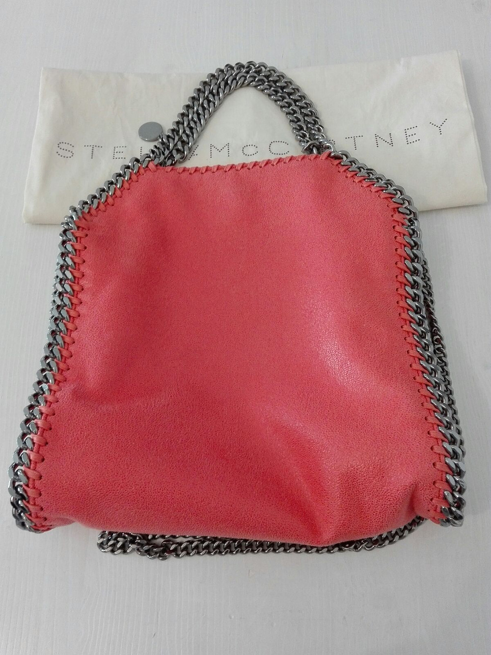 Borsa Stella McCartney corallo
