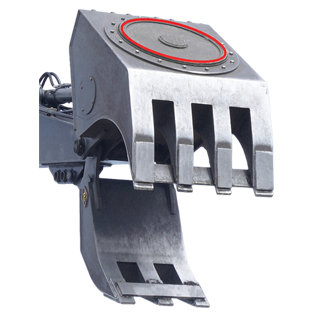 Magnet Grapple for Excavators