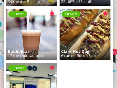 Top 5 des adresses street food à Paris.