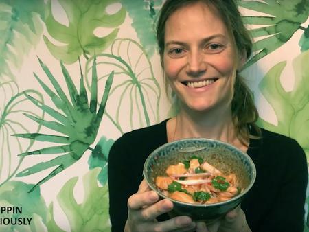 Recette : salade de saumon 🇹🇭