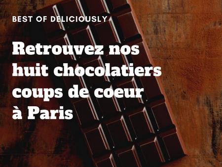 Notre top 8 des meilleures chocolateries à Paris 🍫