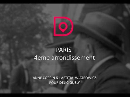 Sortie du 4e arrondissement de Paris dans l'application Deliciously ! 🎉
