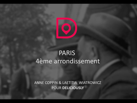 Sortie du 4e arrondissement de Paris dans l'application Deliciously ! 🎉