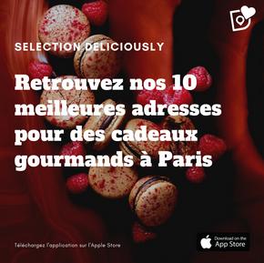 Notre top 10 des meilleures adresses pour des cadeaux de Noël gourmands à Paris 🎁