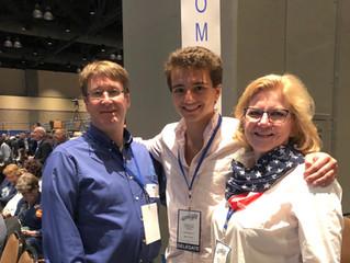 Pomfret Delegates Travel to State Convention