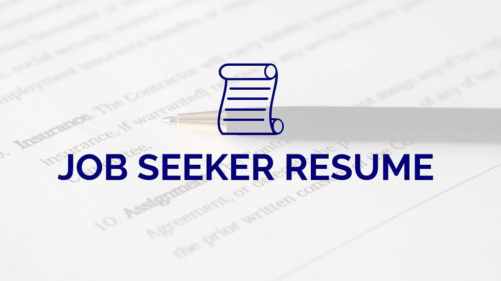 Keyword Optimized Resume