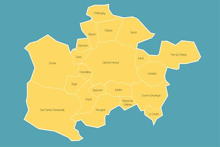 Illustration Clermont et sa métropole