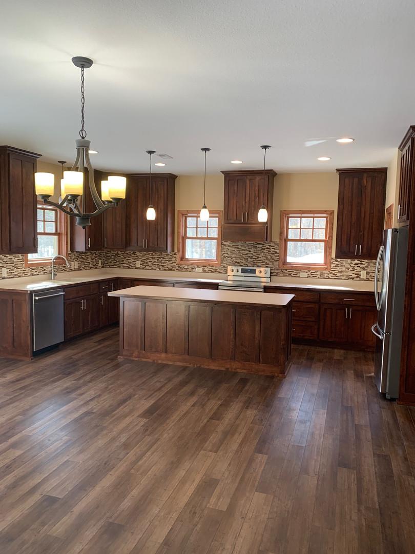 Warm Wood Tone Kitchen