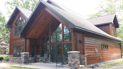 Gable Patio with Lake View