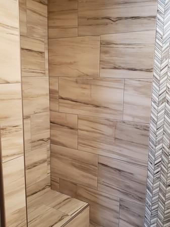 Herringbone Tile Inset Custom Shower.jpg