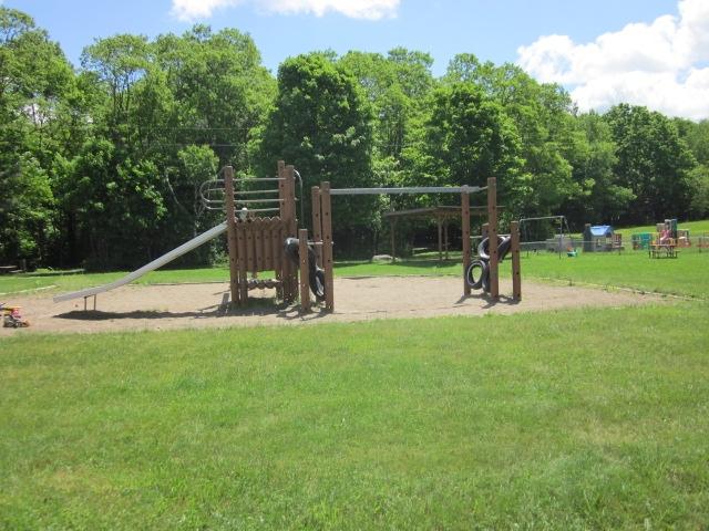 Timber playground