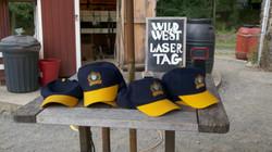 No hats during laser tag
