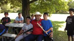 Orlando Cepeda at Camp