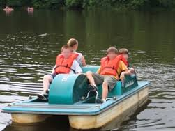 Paddle boat rental