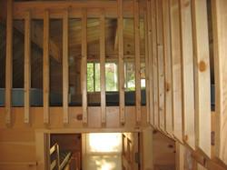 Loft over bedroom.