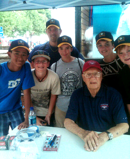 Bob Feller Autograph Session