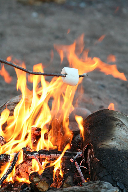 Campfire & s'mores on Thursday