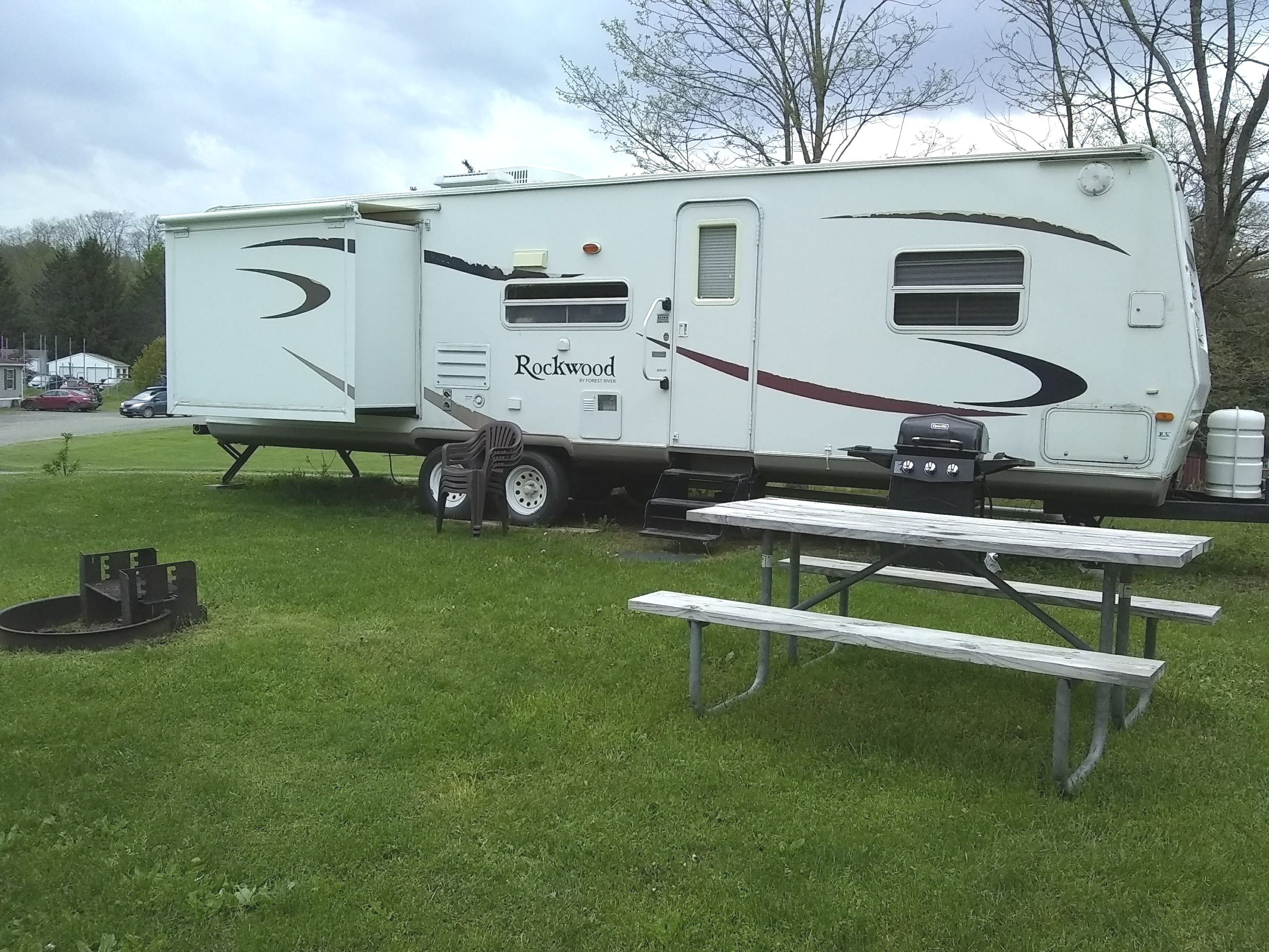 34' Rockwood Rental Trailer