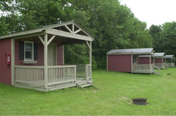 1 room Rustic Camping Cabin.