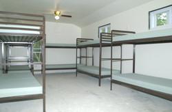 Large room sleeps 12.