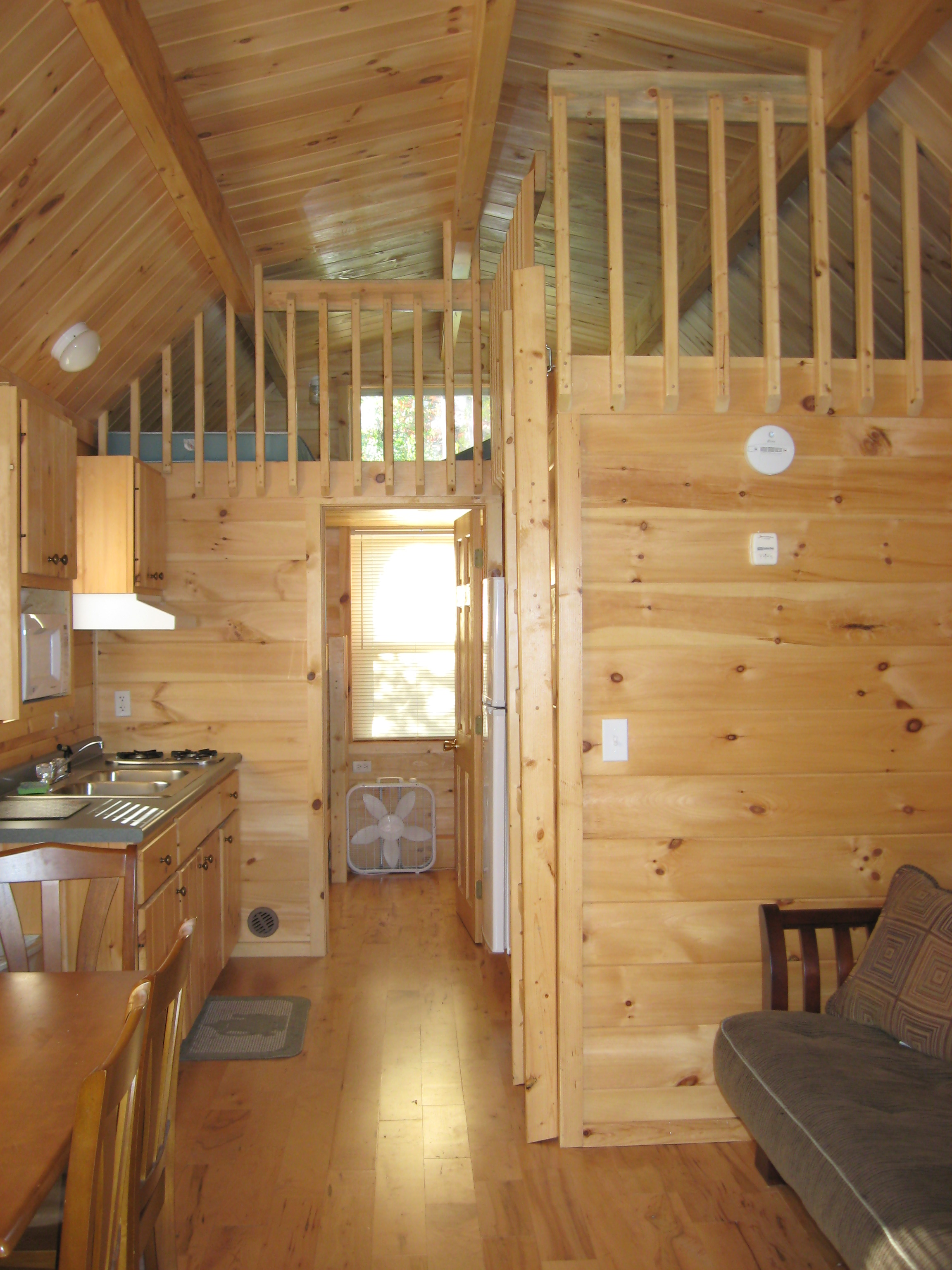1-bedroom Cabin Interior