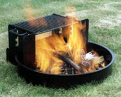 Adjustable Campfire Ring