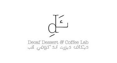 Decaf  Dessert & Coffee Labe